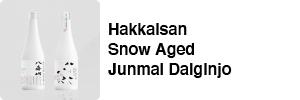Snow Aged Junmai Ginjo 3 Years